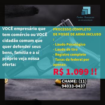 Assessoria para posse de arma em Jardim São Paulo