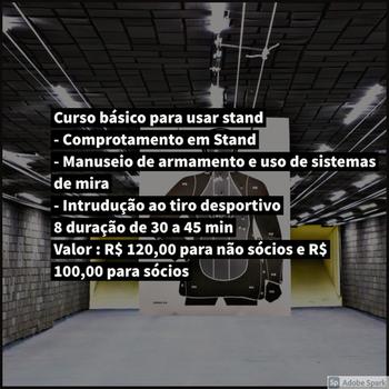 Curso para atirador na Vila Maria