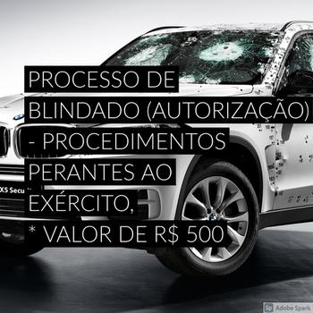Documentação para blindagem em Brasilândia