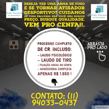 Instrução para certificado de registro CR em Brasilândia