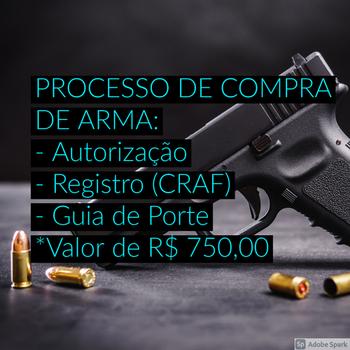 Instrução para porte de arma